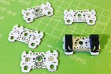 Amoeba Single-Switch PCB (1u & 2u)