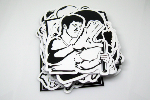 Sticker Bomb Pack: Black & White