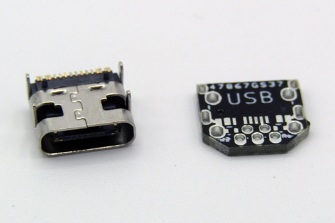 MiniUSB to Type-C Adapter Board