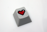 8-Bit Colored Heart Keycap