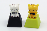 Fancy Kitty Keycaps (2pcs)