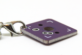 SpaceCat PCB Keychain