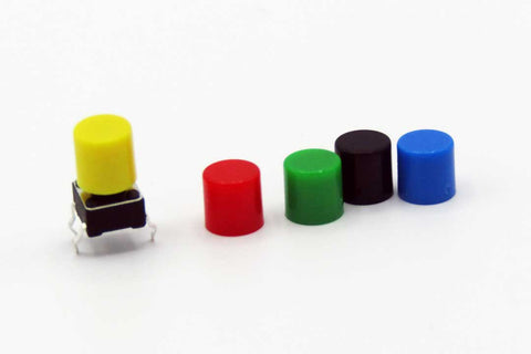 6x6mm Covers / Caps (Multiple Colors)