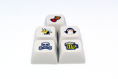 XDA Novelty Keycaps