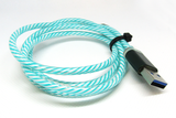 [Lights] Teal & White RGB, MicroUSB