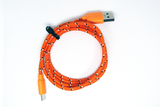 [Value] Orange Striped, MicroUSB