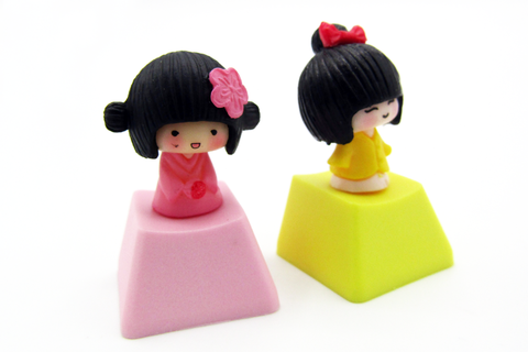 Kawaii Couple Keycaps (2pcs)