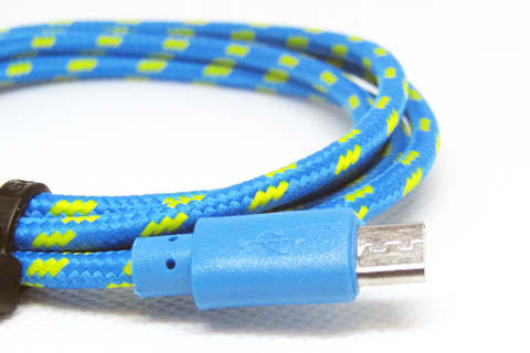 [Value] Blue & Yellow, MicroUSB