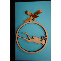 Ocean Collection - Diver Ornament