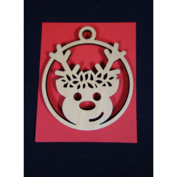 Christmas Reindeer with Haku Ornament