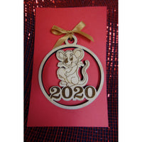 2020 Year of the Rat Ornament