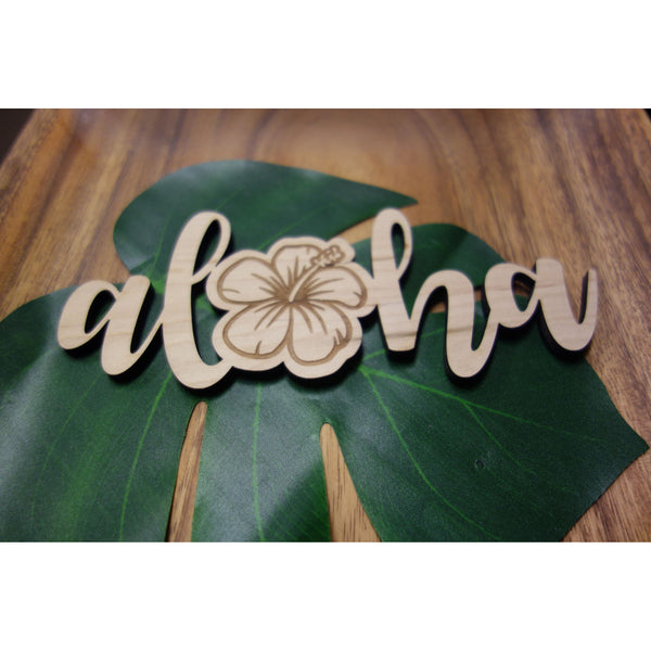 Aloha Hibiscus Decorative Piece