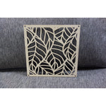 Tropical Banana Leaf Square Panel
