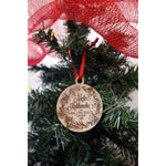 *CUSTOM ORDER* Holiday Wreath Family Ornament