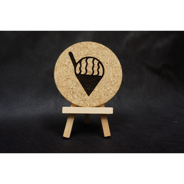 Shave Ice Cork Coaster