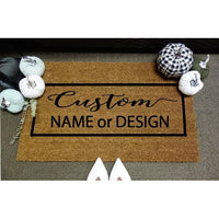 *Customizable* Door Mat