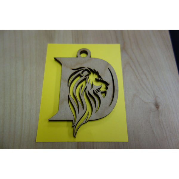 Damien Athletics *FUNDRAISER* Logo Keepsake Ornament, Version 1