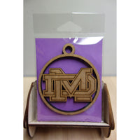 Damien Athletics *FUNDRAISER* Logo Keepsake Ornament, Version 2