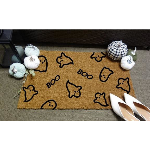 Halloween Ghost Door Mat