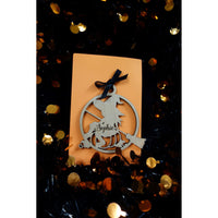 *CUSTOM ORDER* Halloween Witch Ornament