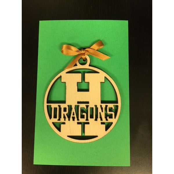 Honoka'a Dragons School Ornament