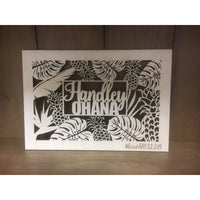 *CUSTOM ORDER* Tropical `Ohana Plaque