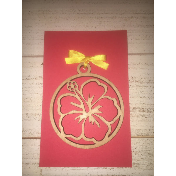 Hibiscus Ornament