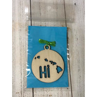 Hawaiian Islands Hi Ornament