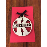 Kahuku Red Raiders School Ornament