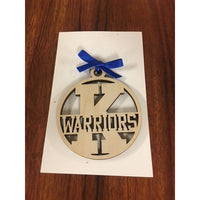 K Warriors School Ornament
