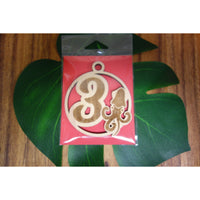 12 Days of Christmas Day 3 Wood Ornament