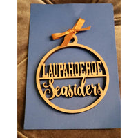Laupahoehoe Seasiders School Ornament