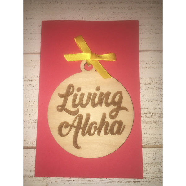 Living Aloha Ornament