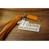NEW ITEM: Mana WAHINE Wood Keychain
