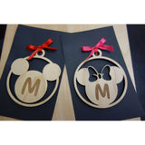 CUSTOM ORDER Minnie Mouse Inspired Ornament