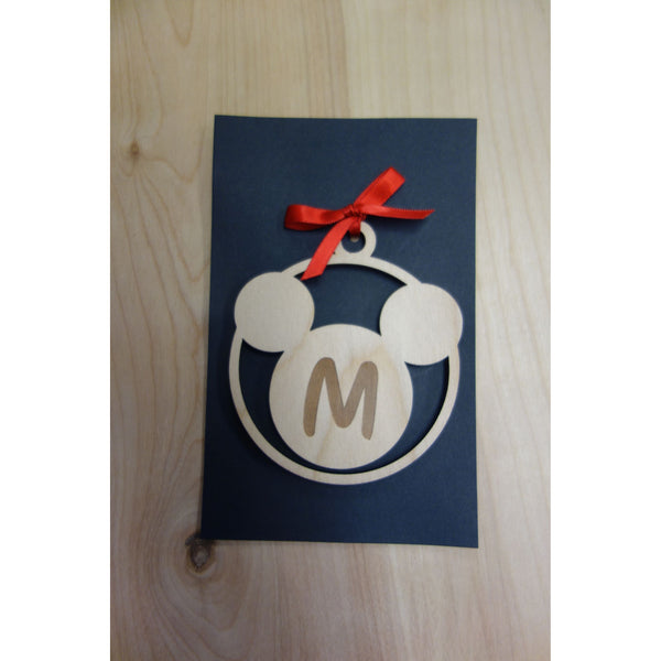 *CUSTOM ORDER* Mickey Mouse Inspired Ornament