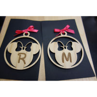 *CUSTOM ORDER* Minnie Mouse Inspired Ornament