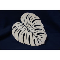 Tropical Monstera Leaf Cut Out