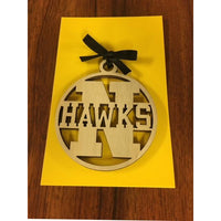 Nanakuli Hawks School Ornament
