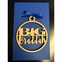 Big Braddah Ornament