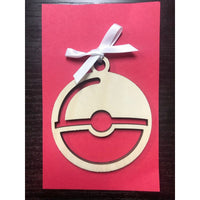 Pokeball Ornament
