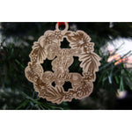 2019 Peace Joy Aloha Tropical Wreath Ornament