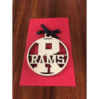Radford Rams School Ornament