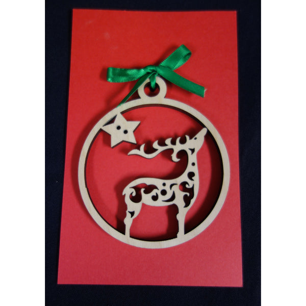 Reindeer Christmas Ornament