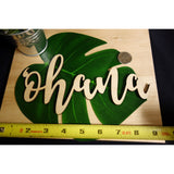 Small `Ohana Decorative Piece