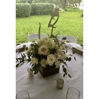 *RENTAL* Table Numbers, Wooden Numeral Sticks