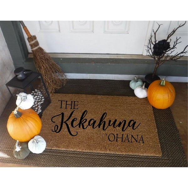 `Ohana *Customizable* Door Mat