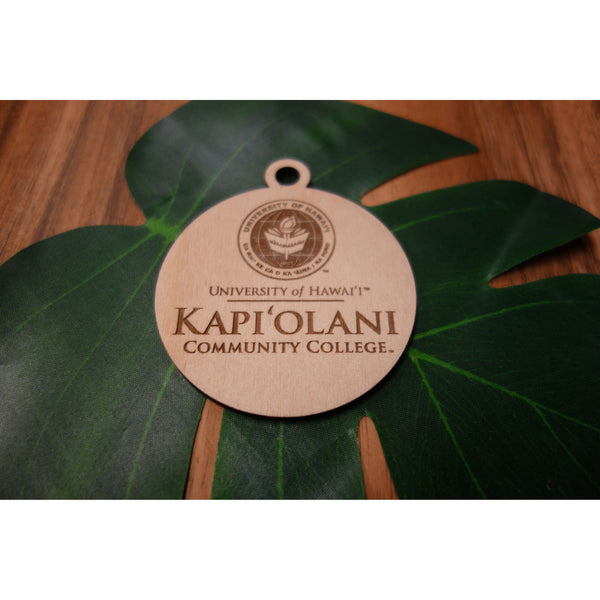 Officially Licensed University of Hawaii Kapiolani Community College Keepsake Ornament