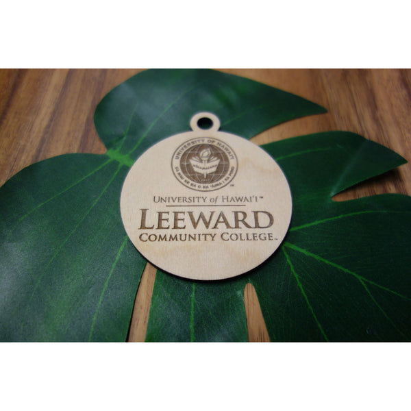 Officially Licensed University of Hawaii Leeward Community College Keepsake Ornament