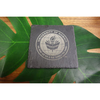 Set of 4 Slate Coasters - Officially Licensed University of Hawaii Logos